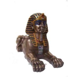 Sphinx Egyptian Statue H14 X W9 X D25cm