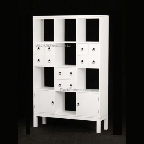 White Room Divider Bookcase Au