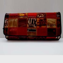 Patch Print Large Leather Wallet Serenade Wallet
