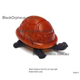 Turtle Lamp Amber.