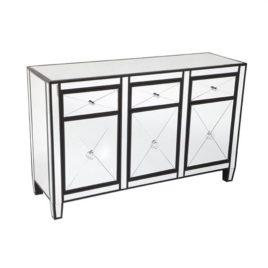 Mirrored Buffet with Drawers