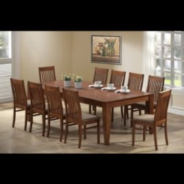 Table 210cm Dining Set 11 piece