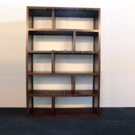 Cube Timber Bookcase W120cm