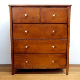 Chapman Tallboy 5 Drawers Chest solid Timber