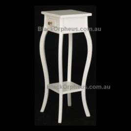 1 Drawer Cabriole Leg Plant Stand