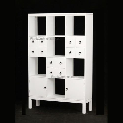 White Room Divider Bookcase Au