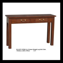 Hall Table Timber W120xD35cm