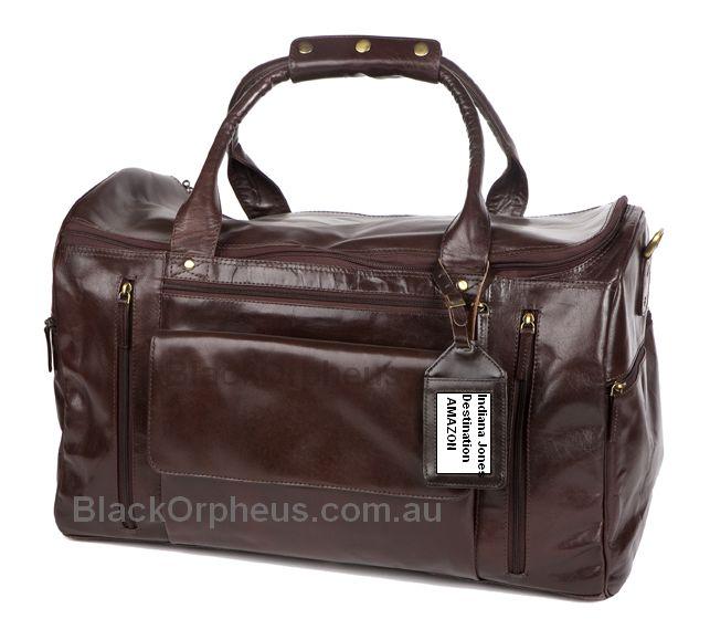 Leather Overnight Bag-Lone Ranger