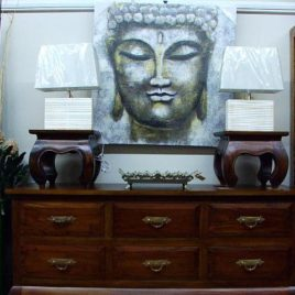 Chest of Drawers, 6 Drawer Oriental.