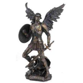 Saint Michael Statue H33