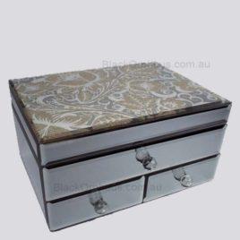 Mirrored Jewellery Box Medium