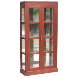 La Verde Paris Mirror Back Display Cabinet