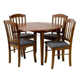 Alpine 5 Piece Dining Drop side timber Setting