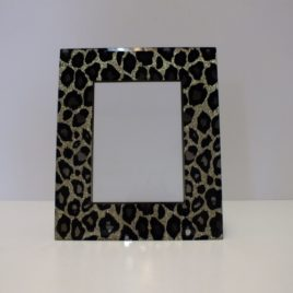 Picture Frame Leopard 5x7""