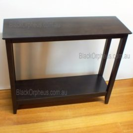 Hall Table Shelf Chocolate W100xD32