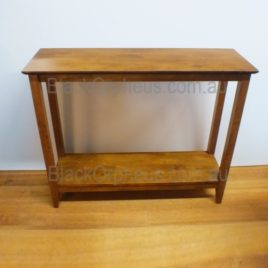 Hall Table with Shelf Teak. W100.cm.