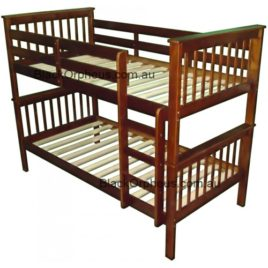 MONZA BUNK BED Single Walnut