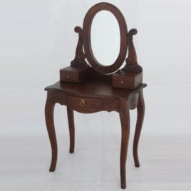 Dressing Table with Mirror.W70xD45xH137cm.