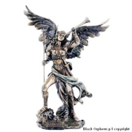 Archangel Gabriel Pewter Figurine