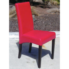 Dining Chair Red Leather