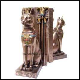 Egyptian Bookends Bastet R017 25cm