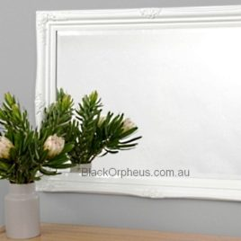 Juliette White Wall Mirror 73x103