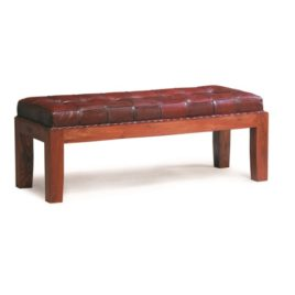 Leather Bench-Seat