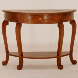 Hall Table Half Round W98