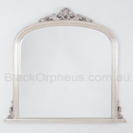 Domed Silver Mirror