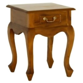 Lamp Table Cabriole Leg Timber