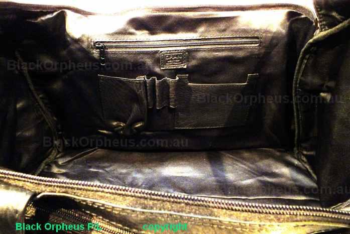 Lone Ranger-Weekender Bag-Black inside view
