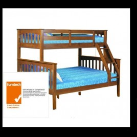 Bunk Bed Sarah Single Double Walnut