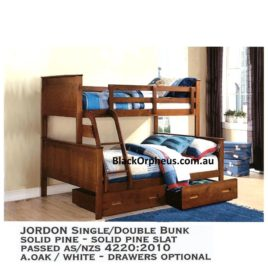 Bunkbed Jordan Single Double