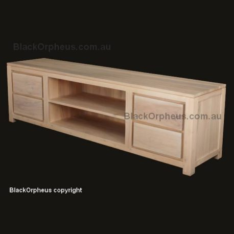 Amsterdam 4 Drawer Entertainment Unit SB 004 TA WS