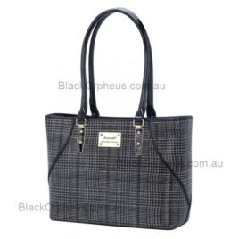 Black and silver Tote Bag Serenade