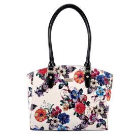 Serenade Spring Floral Tote Hand bag