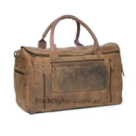 Carry Leather Overnight Bag Lone Ranger Hunter